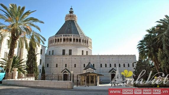 Tour du lịch Hành hương về miền Đất Thánh Israel 8 Ngày